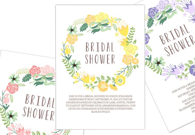 party and bridal shower online invitations tk theknotcom