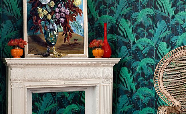 Make A Statement At Home With Bold Wallpaper