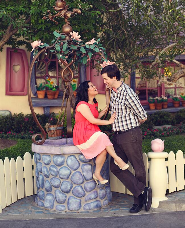 ToonTown Engagement Session | Lukas & Suzy VanDyke Wedding Photography | From: Blog.theknot.com