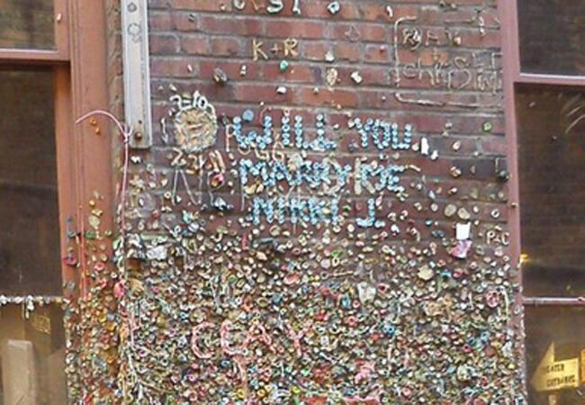 Seattle Gum Wall Proposal