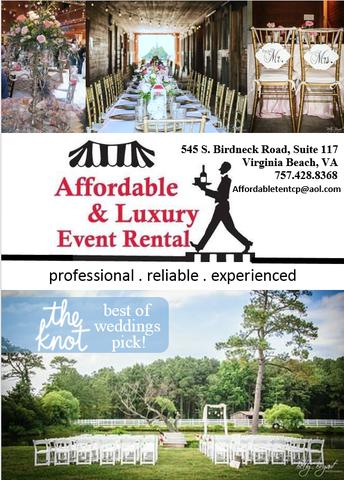 Affordable Amp Luxury Event Rentals Virginia Beach Va