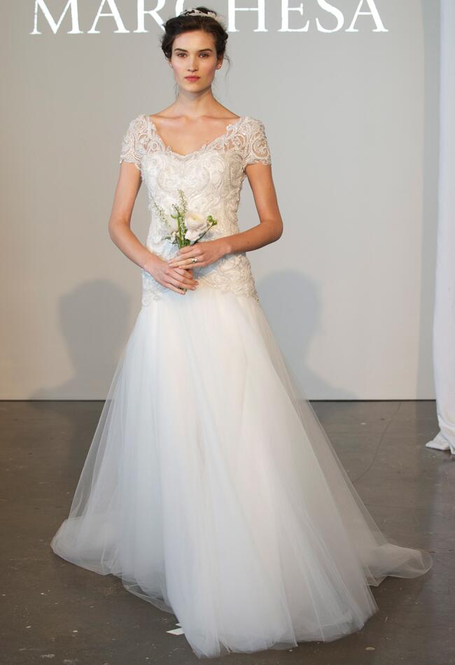 Marchesa Spring 2015 | Kurt Wilberding | The Knot Blog