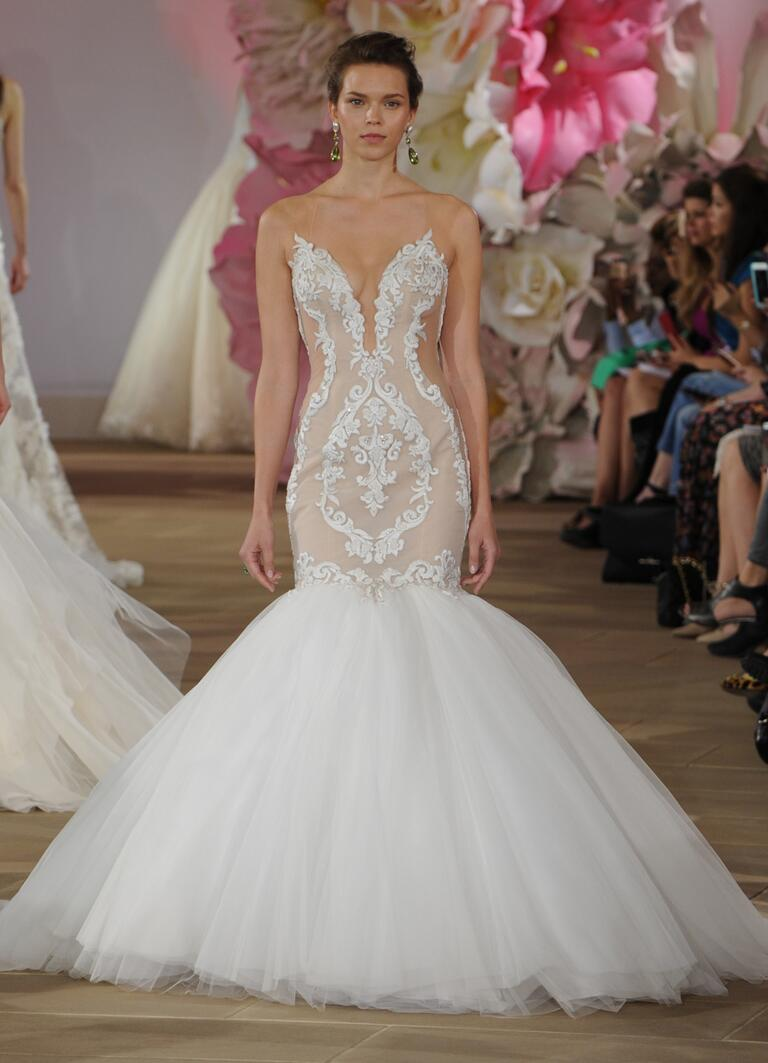 Ines di santo spring 2017 collection bridal fashion week for Spring summer wedding dresses