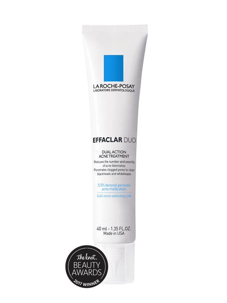 Our choice for best acne fighter is the Effaclar Duo Dual Action acne treatment