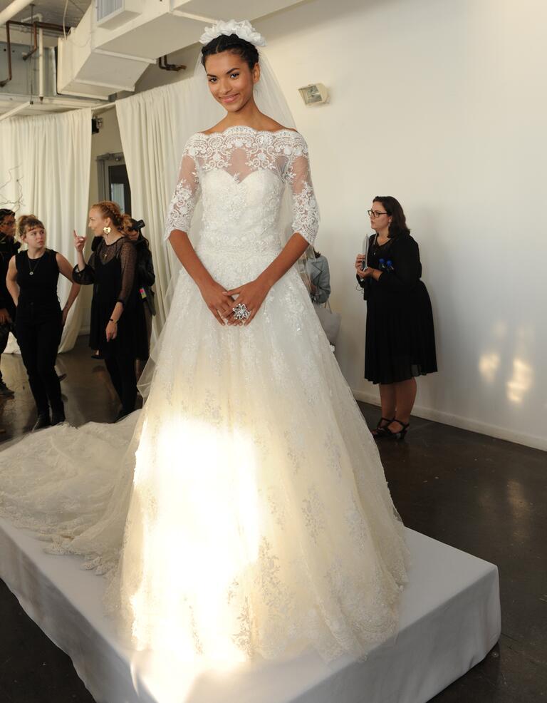 Marchesa Fall 2016 Collection: Bridal Fashion Week Photos