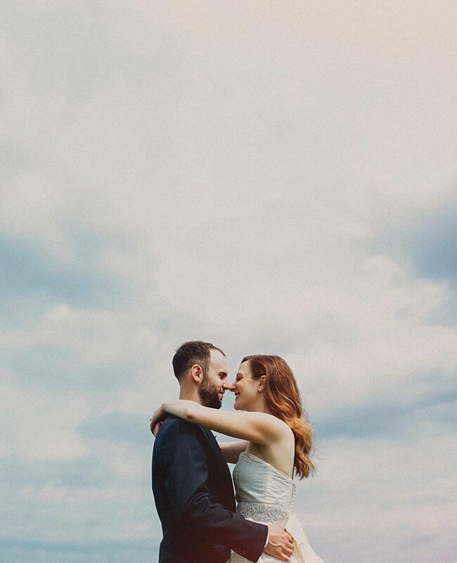 Photo: The Mullers // The Knot Blog