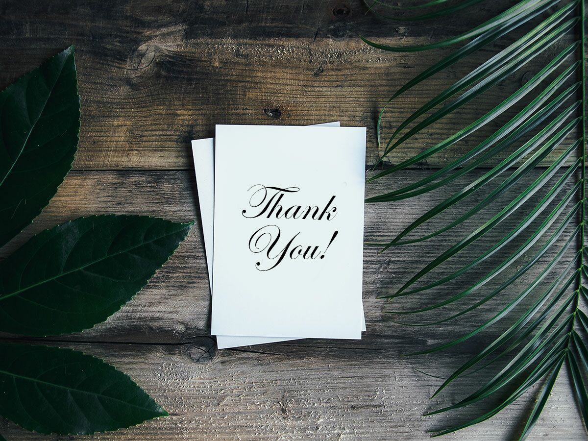 Wedding Thank You Card Wording Tips For Writing A Thank You Note