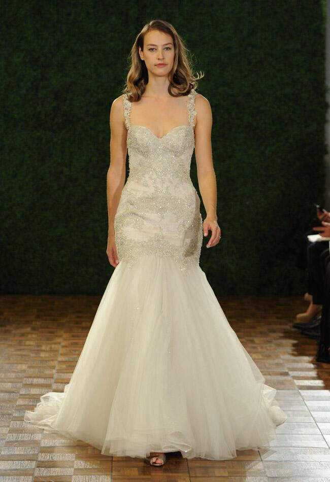 Watters Fall 2014 wedding dress | The Knot Blog
