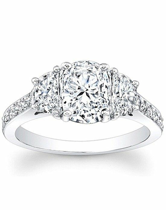 Since1910 Thin Micro Pave Halo Diamond Engagement Ring Wedding Ring
