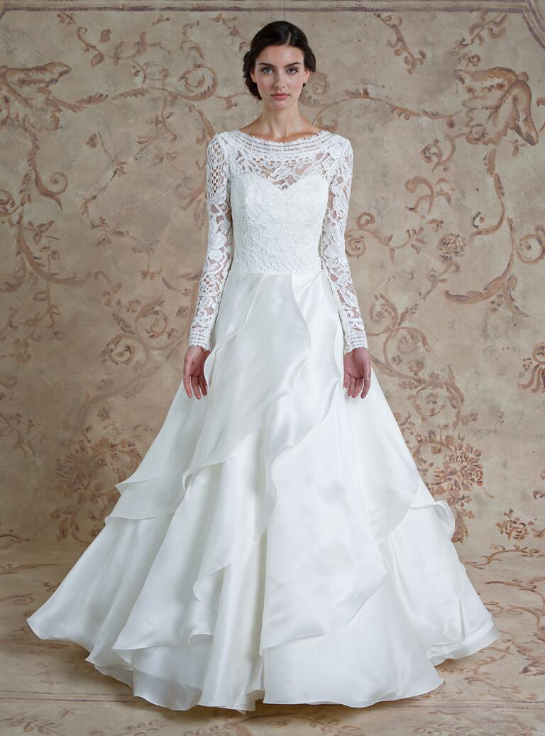 Fall Wedding Gowns : Sareh nouri fall collection wedding dress photos