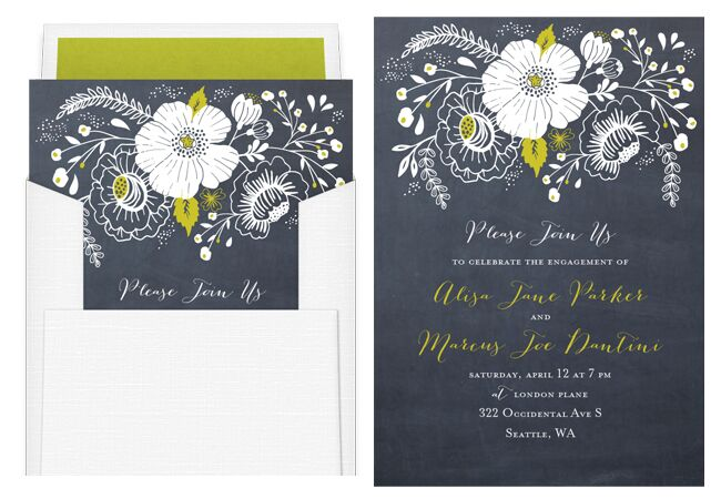 party and bridal shower online invitations greenvelope theknotcom