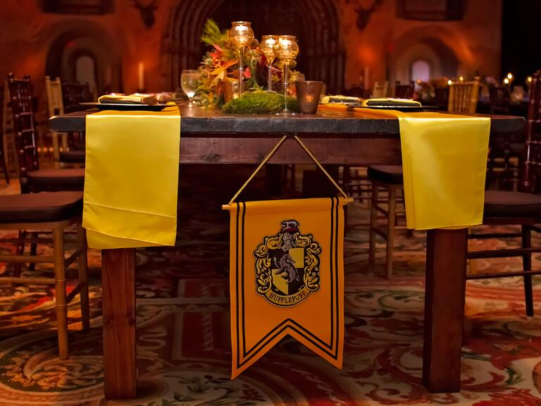 Harry Potter table details