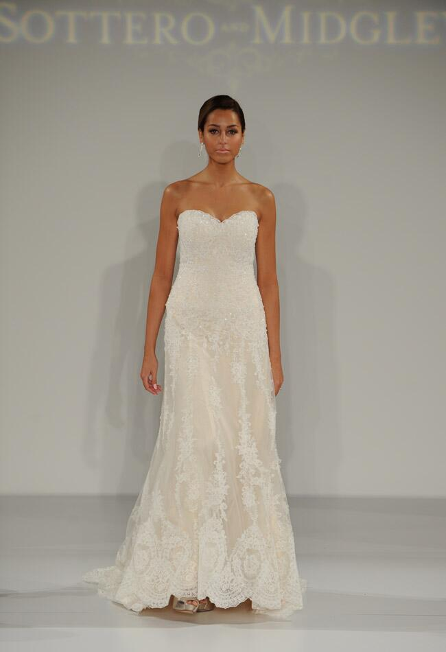 Sottero and Midgley Fall 2014 wedding dress | Kurt Wilberding | The Knot blog