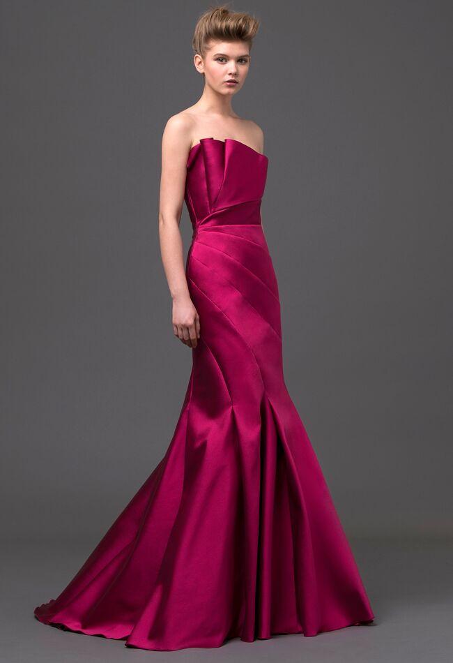 Red dress makeup 702