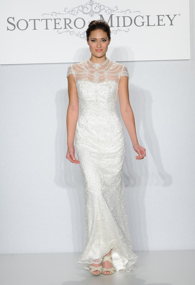 Sottero and Midgley Spring 2014 Runway Wedding Dresses from The Knot