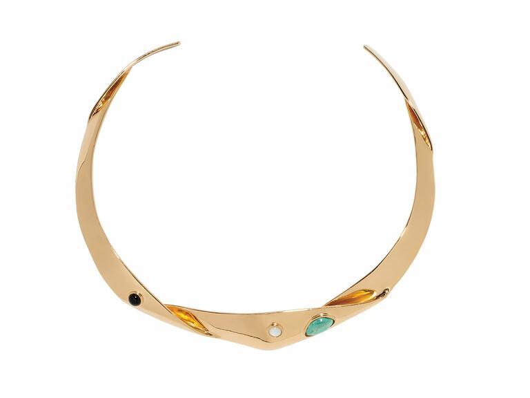 Lizzie Fortunato Organic knot collar