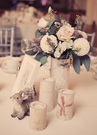 Bunny wedding inspiration: Renaissance Studios Photography / TheKnot.com