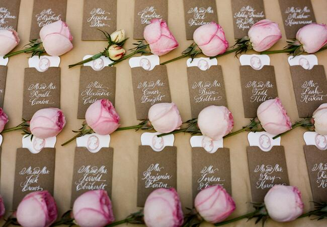 Kraft Paper Wedding Ideas