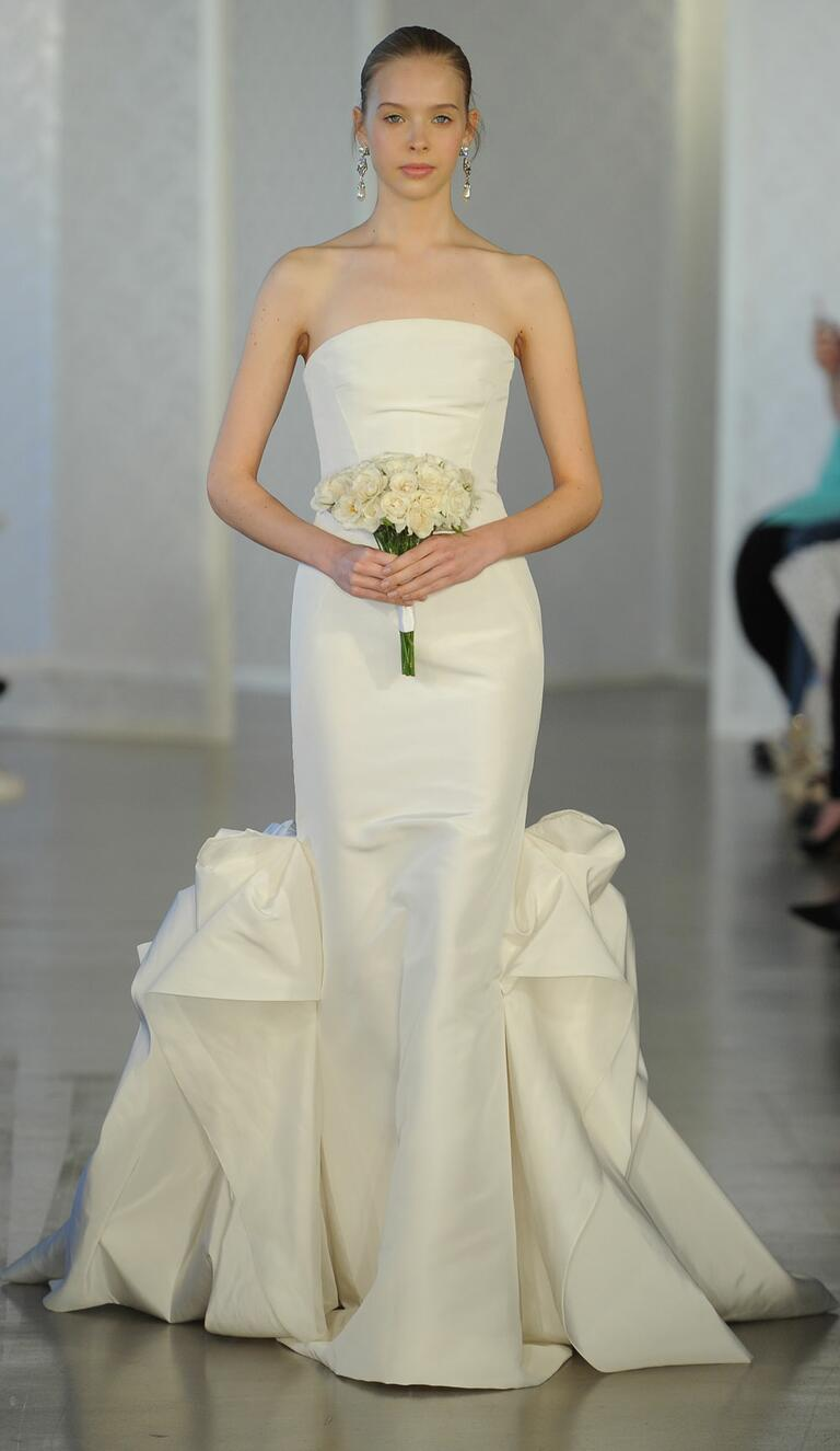 Oscar de la renta spring 2017 collection bridal fashion for Wedding dresses in louisiana