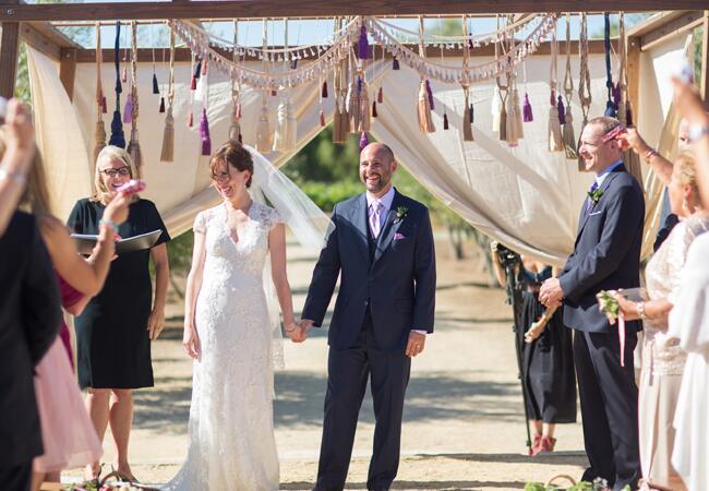 DIY tassel wedding ideas   Annie McElwain Photography   blog.theknot.com