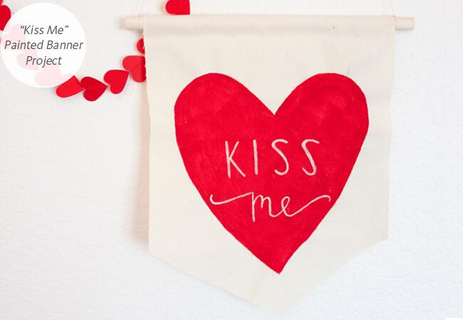 DIY wedding projects with hearts: Say Yes / TheKnot.com