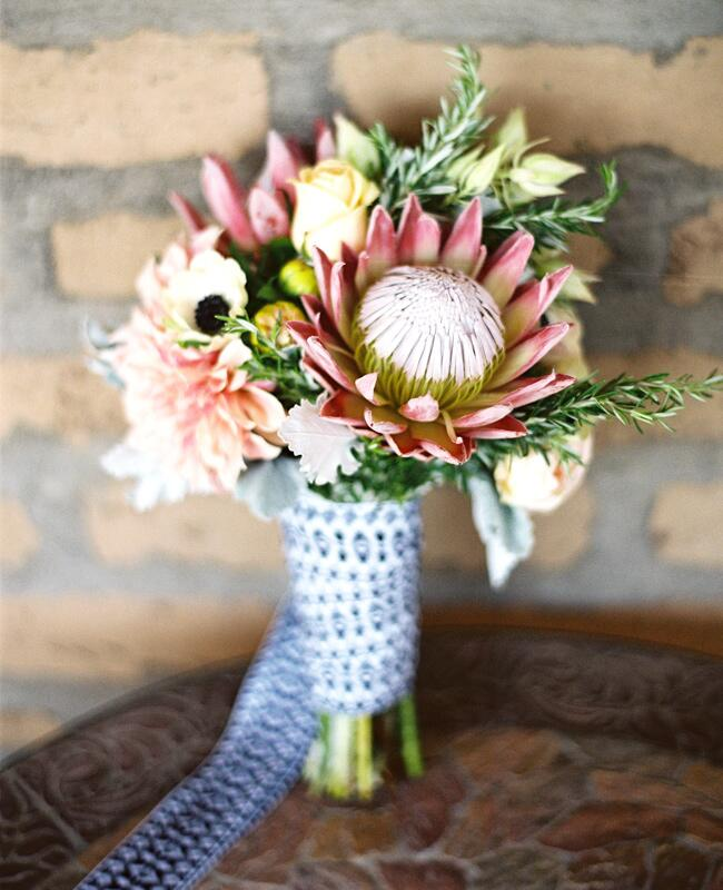 Like succulents then you ll love the latest wedding for King protea flower arrangements