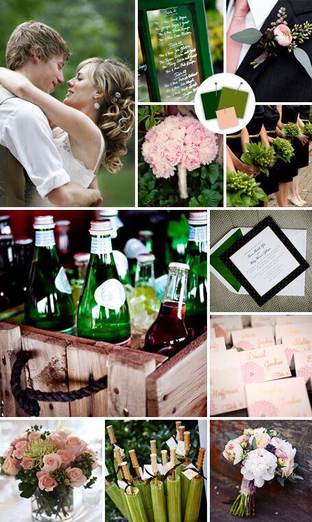 Hot new wedding color palettes junglespirit Choice Image