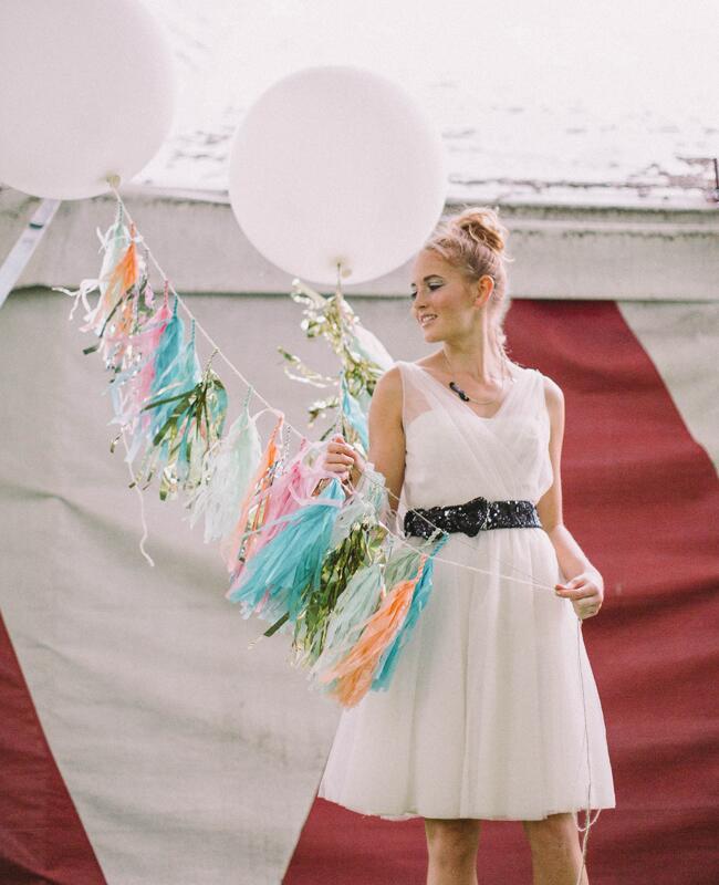DIY tassel wedding ideas   Nancy Ebert Photography   blog.theknot.com
