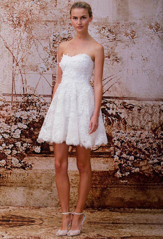 Monique Lhuillier Wedding Dresses Spring 2014/ Valentina