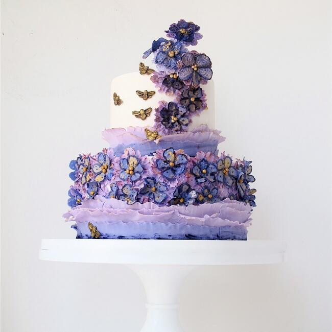 Everything You Need To Know About Wedding Cake: Romantic Wedding Cakes By Maggie Austin Cake: See The Photos