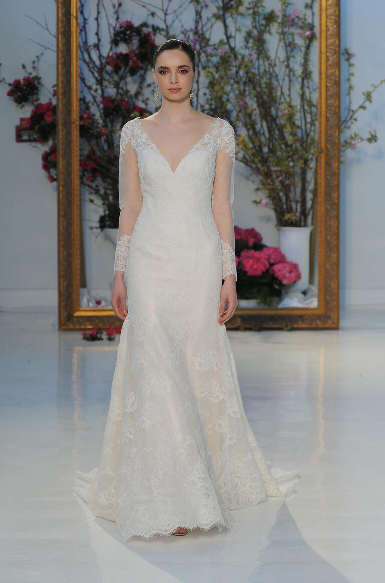Anne Barge Spring 2017 Collection Bridal Fashion Week Photos