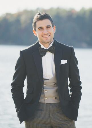Vintage-Inspired Groom Attire | The Shultzes | The Knot Blog