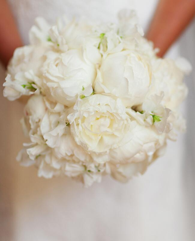 Peony Bouquet: Love Captures by Jonathan Young / TheKnot.com