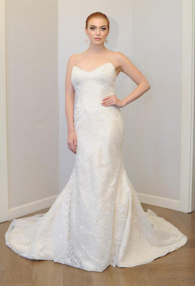 Matthew Christopher Fall 2014 wedding dress | Kurt Wilberding | The Knot blog