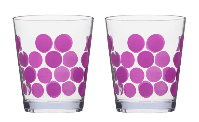 double old-fashioned glasses / The Knot Blog