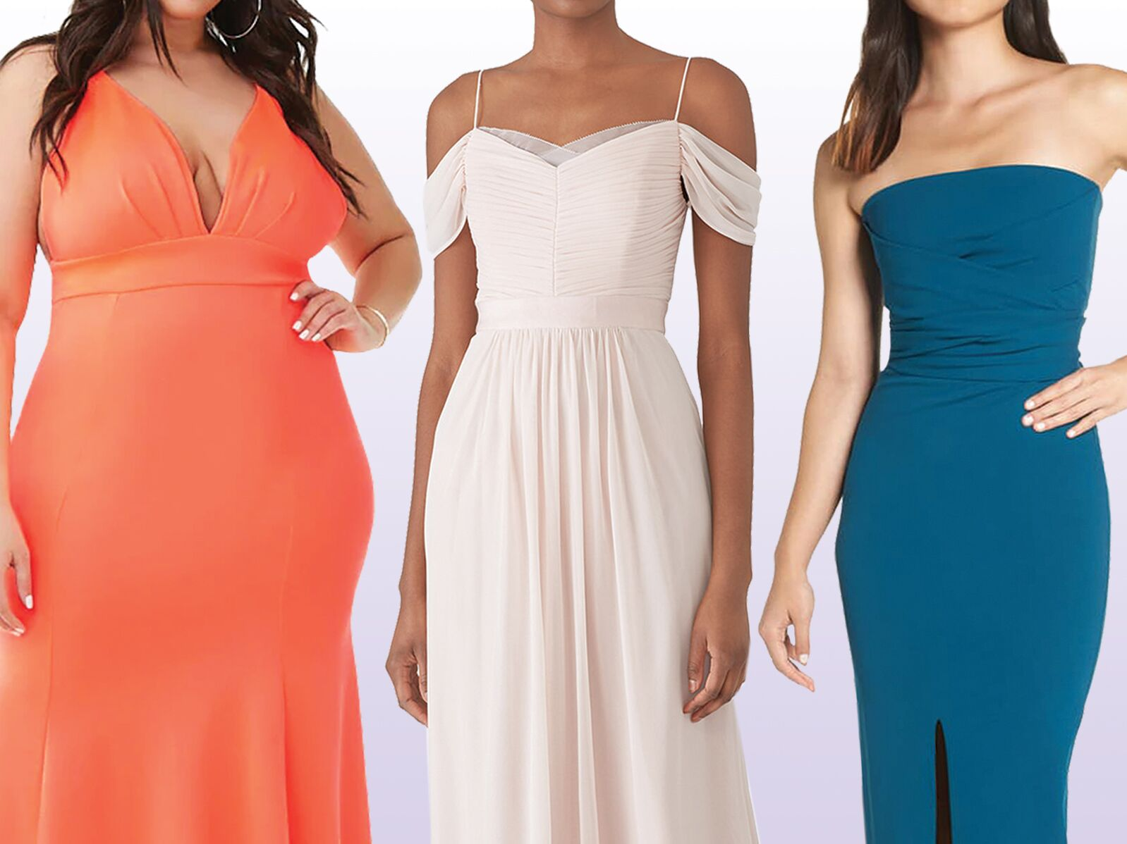 a1cf0108620d 55 Affordable Bridesmaid Dresses That Don't Look Cheap