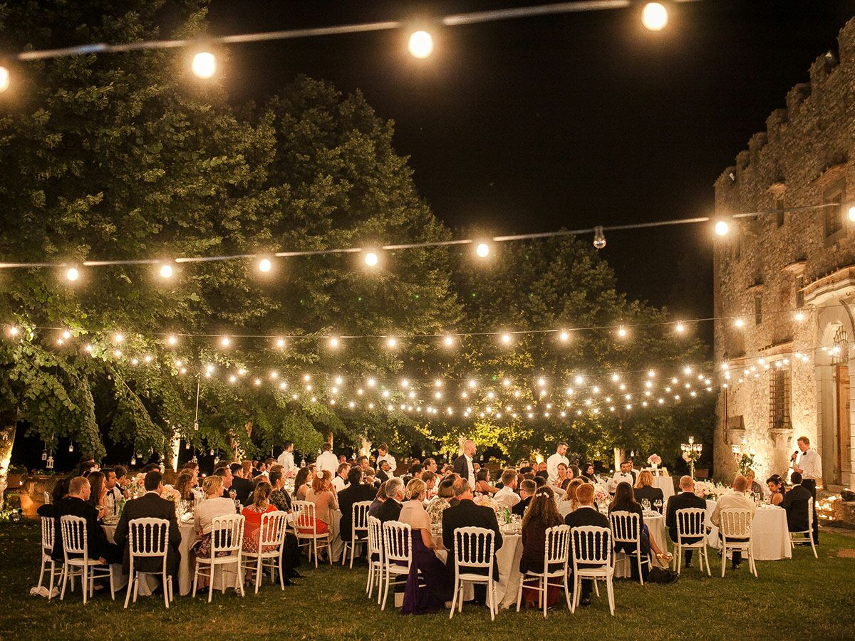Decorative lights for weddings - 7 Ways To Get Creative With String Lights