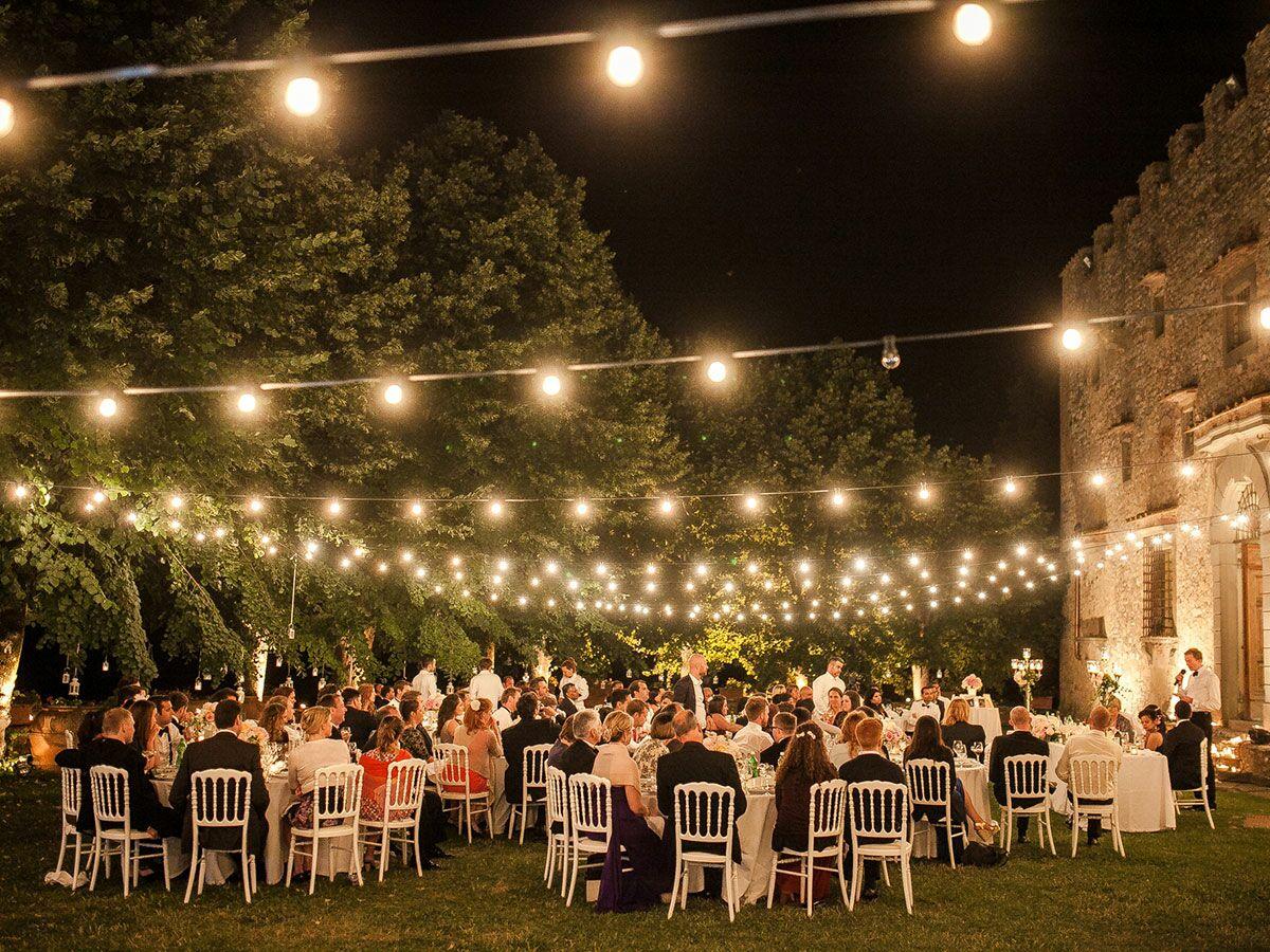 Indoor string lights wedding - 7 Ways To Get Creative With String Lights