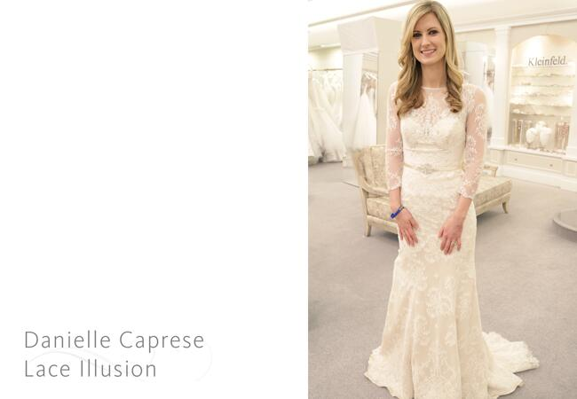 Danielle Caprese gown / The Knot blog