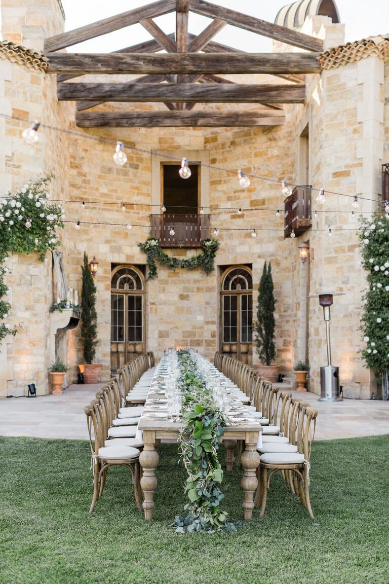 Alyssa Campanella wedding reception
