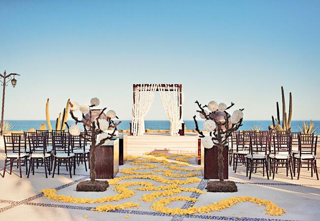 An Exotic Beach Wedding