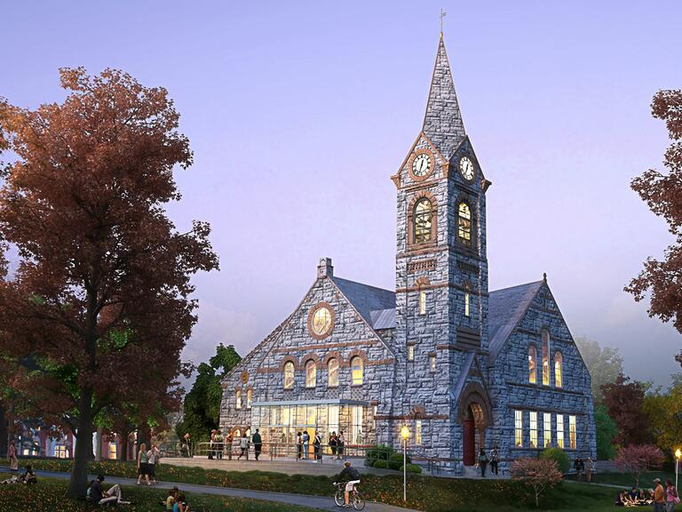 University Massachusetts Amherst Chapel