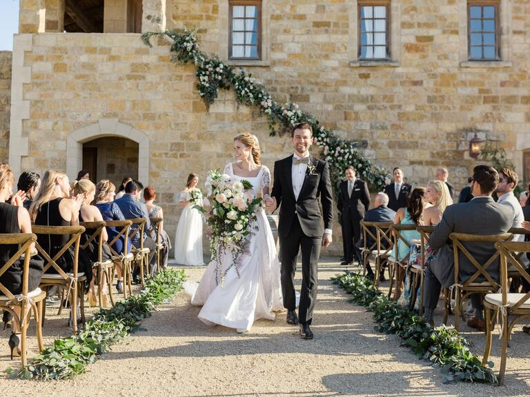 Alyssa Campanella Torrance Coombs Wedding Ceremony