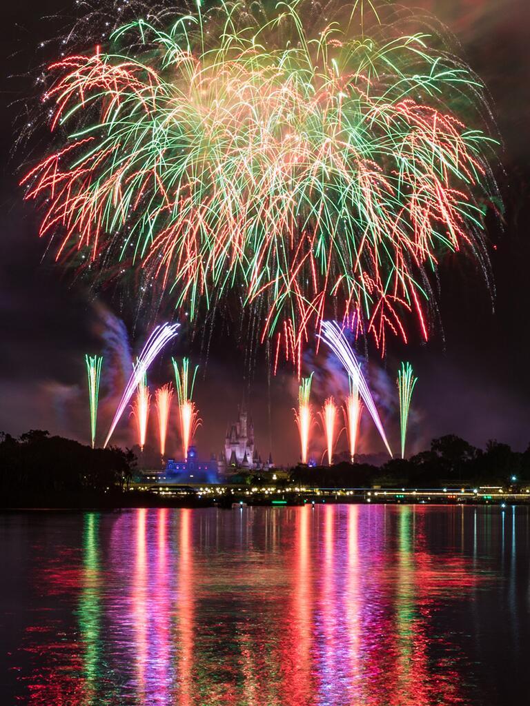 Seven Seas Lagoon Fireworks Cruise for the perfect Disney proposal