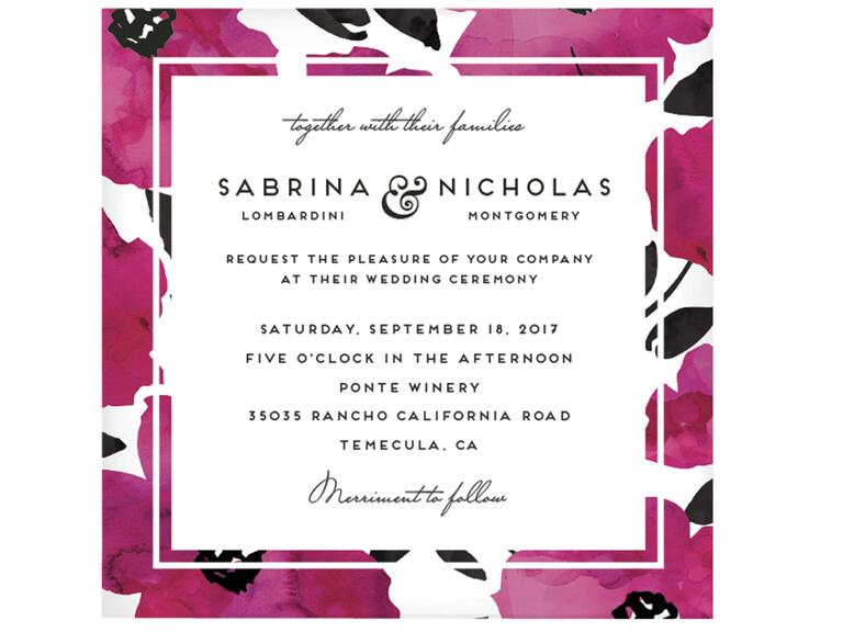 Petra Kern Dark Romance Invitations from Minted