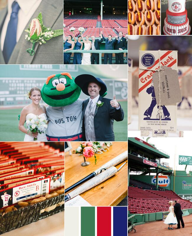 Red Sox Wedding Inspiration