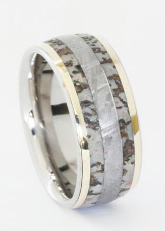 dinosaur bone wedding band - Dinosaur Bone Wedding Ring