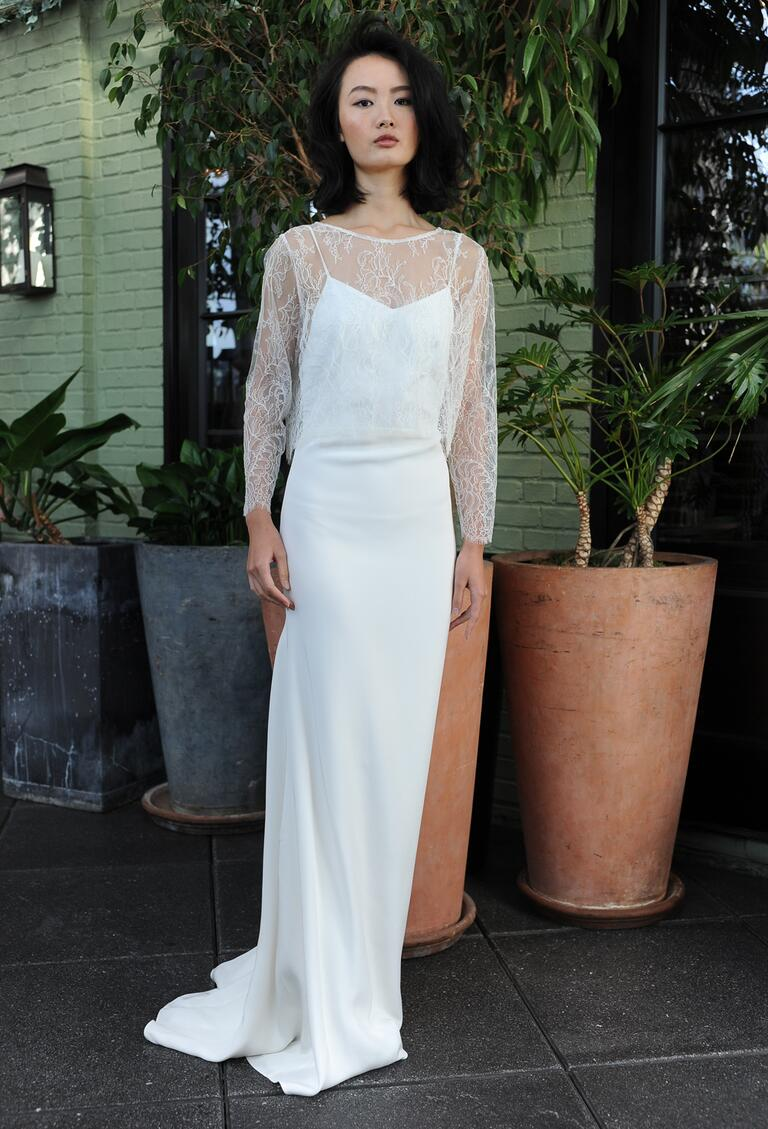 Sarah seven fall 2016 collection wedding dress photos for Valentino short wedding dress