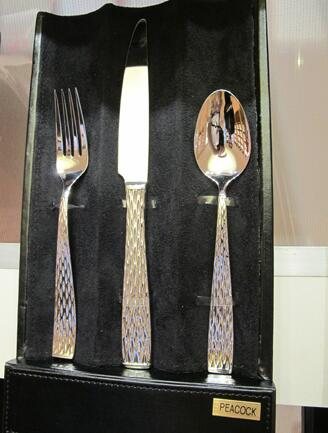 Hampton Forge Peacock flatware