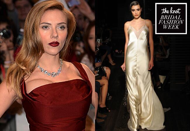 11 bridal fashion week wedding dresses for these engaged celeb